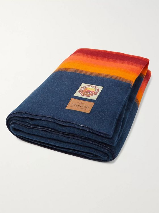 Pendleton Grand Canyon National Park Striped Wool Blanket