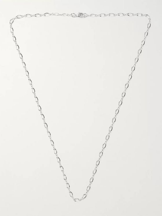 MAPLE Figure Eight Sterling Silver Chain Necklace
