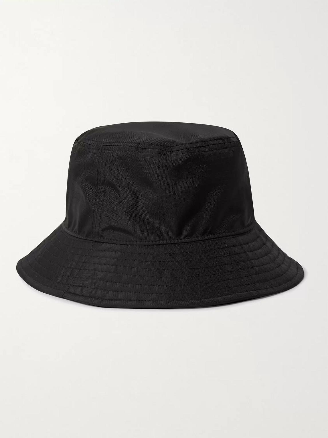 ACNE STUDIOS Hats LOGO-APPLIQUÉD RIPSTOP BUCKET HAT