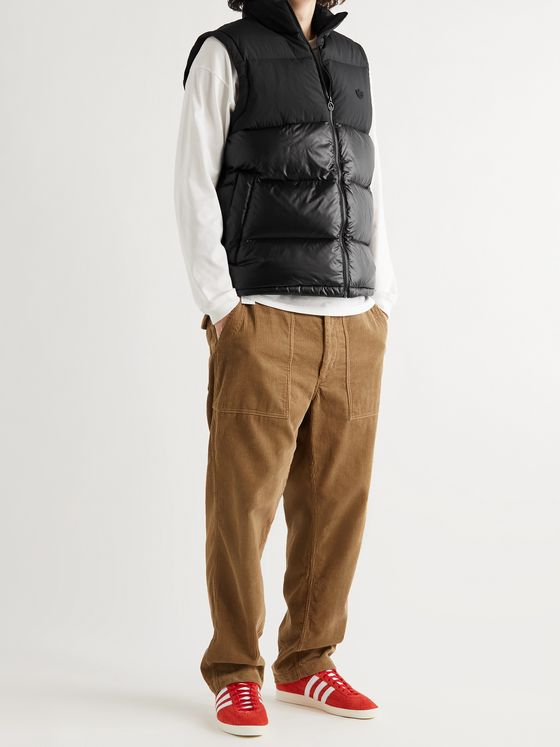 ADIDAS ORIGINALS Regen Slim-Fit Logo-Embroidered Quilted Down Shell Gilet