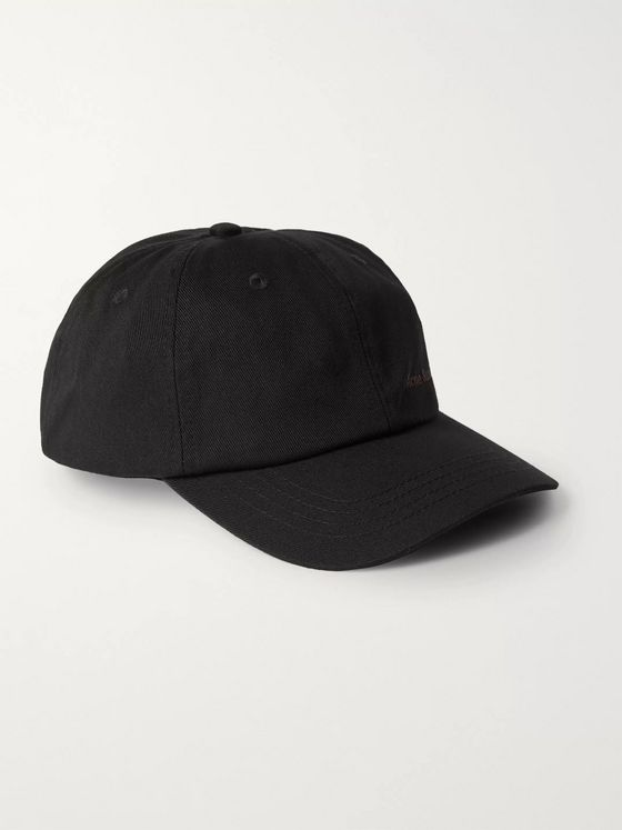 Acne Studios Logo-Embroidered Cotton-Twill Baseball Cap