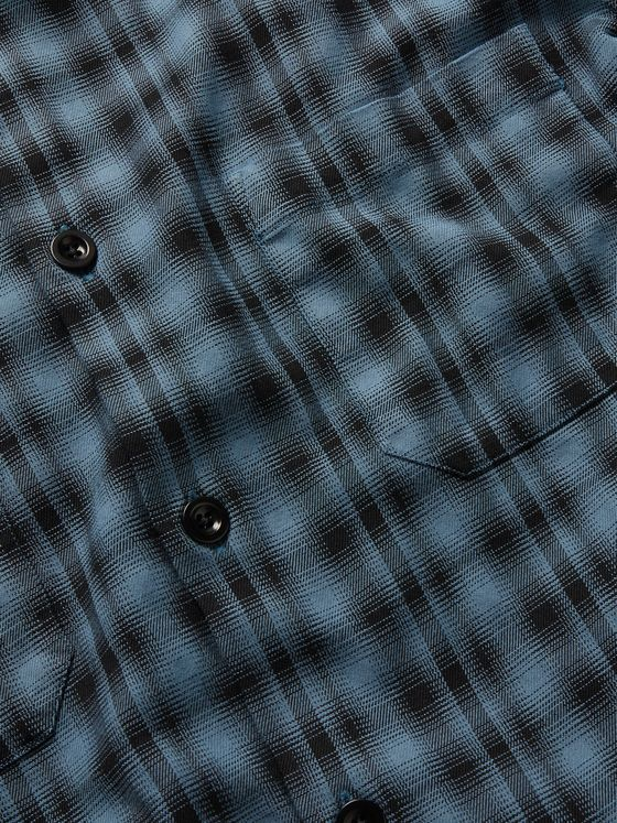 Mr P. Paul Oversized Checked Flannel Overshirt
