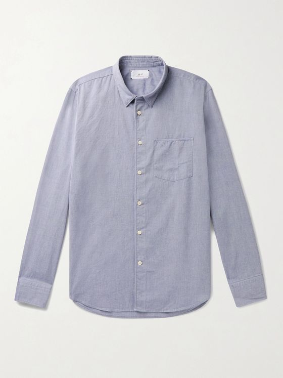 MR P. Washed-Cotton Shirt