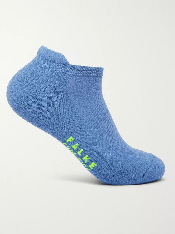 FALKE Three-Pack Cool Kick Stretch-Knit No-Show Socks