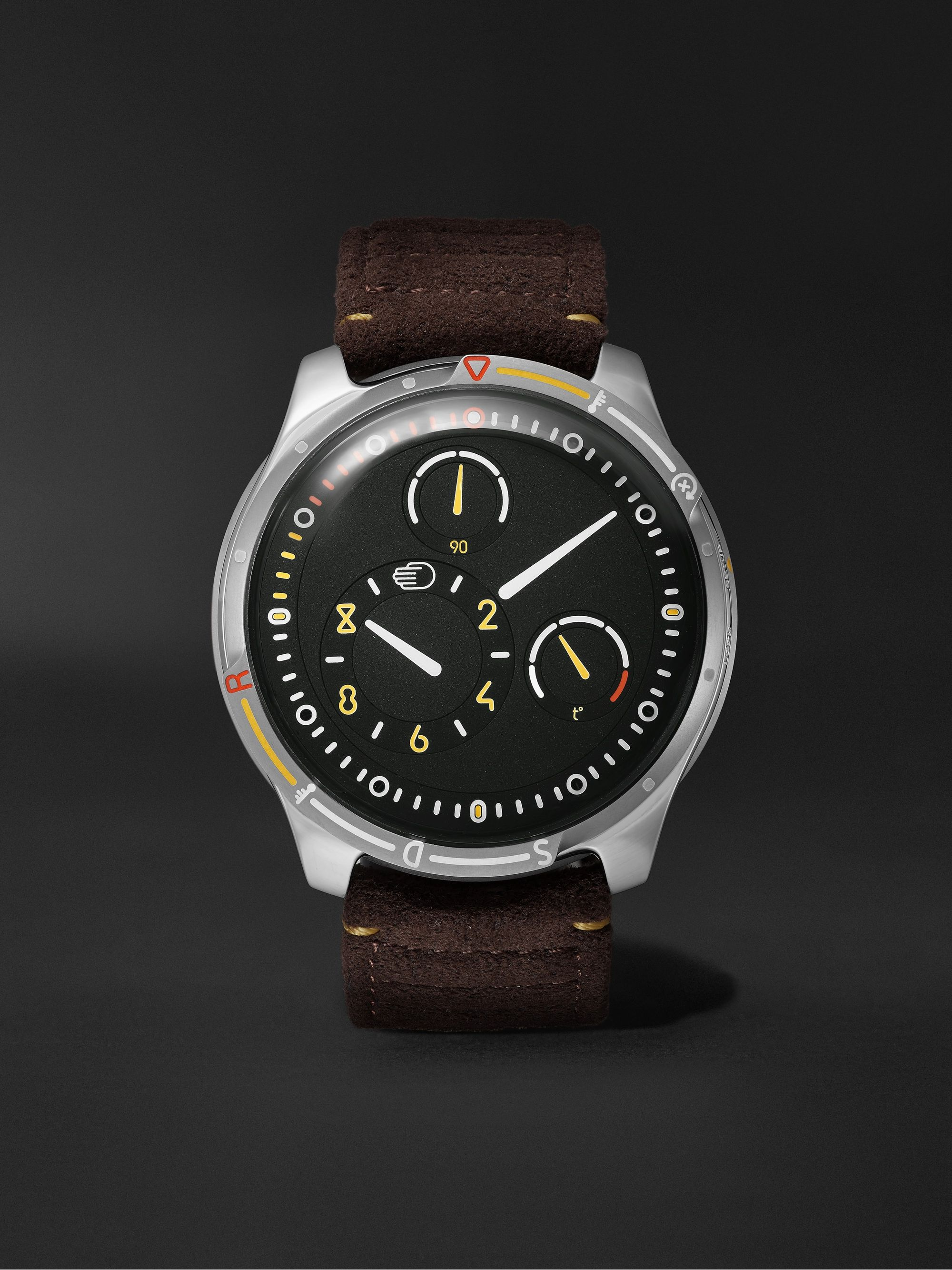 RESSENCE Type 5X Limited Edition Automatic 46mm Titanium and Rubber Watch