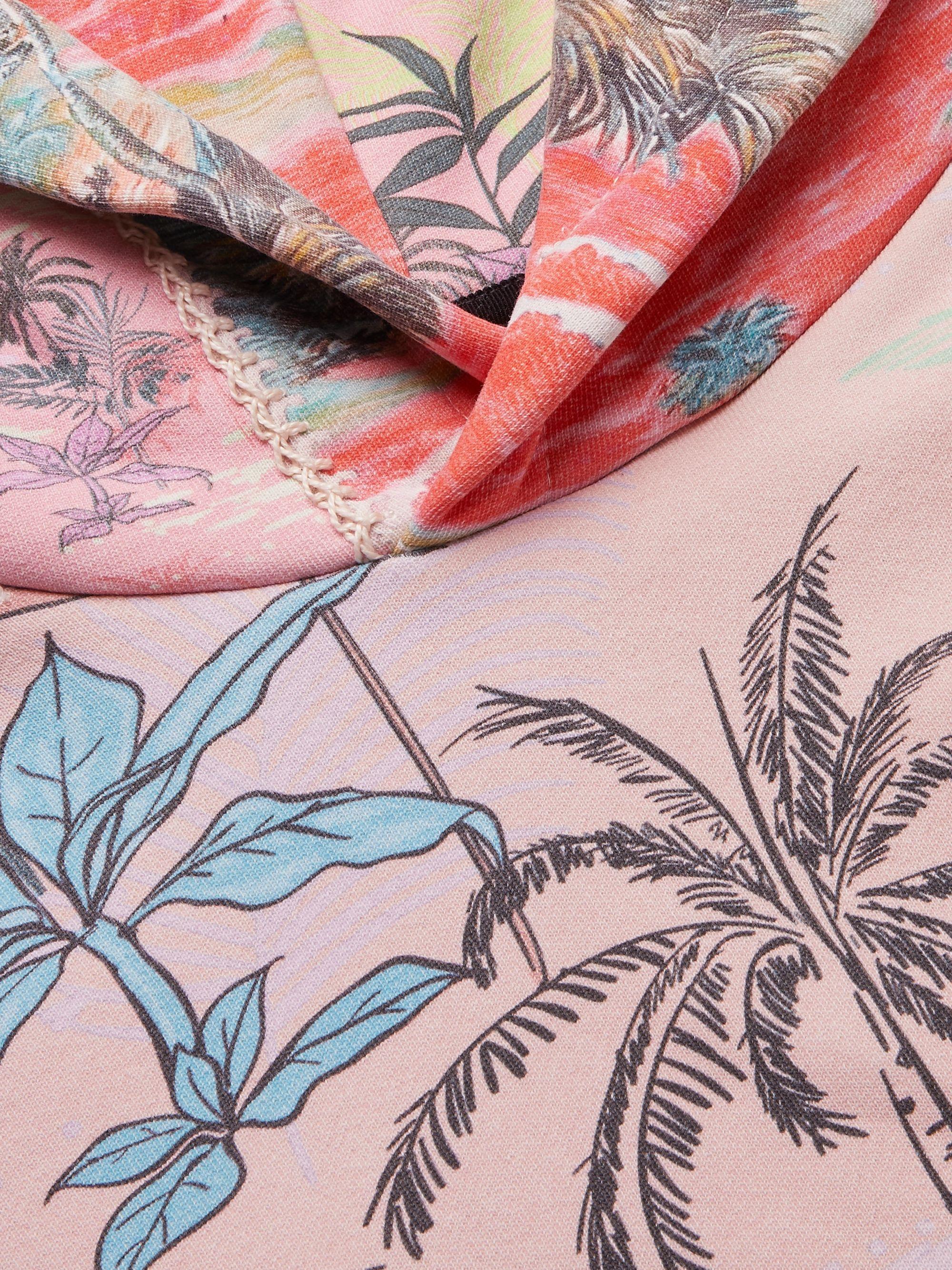 Green Patchwork Cotton-jersey Hoodie | Amiri