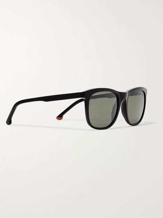 Loro Piana Traveller 53 Square-Frame Acetate Sunglasses