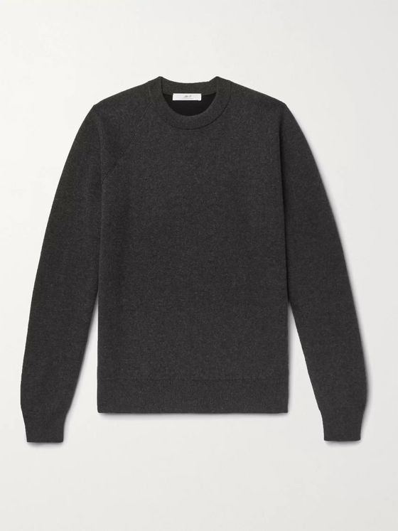 MR P. Double-Faced Cashmere Sweatshirt
