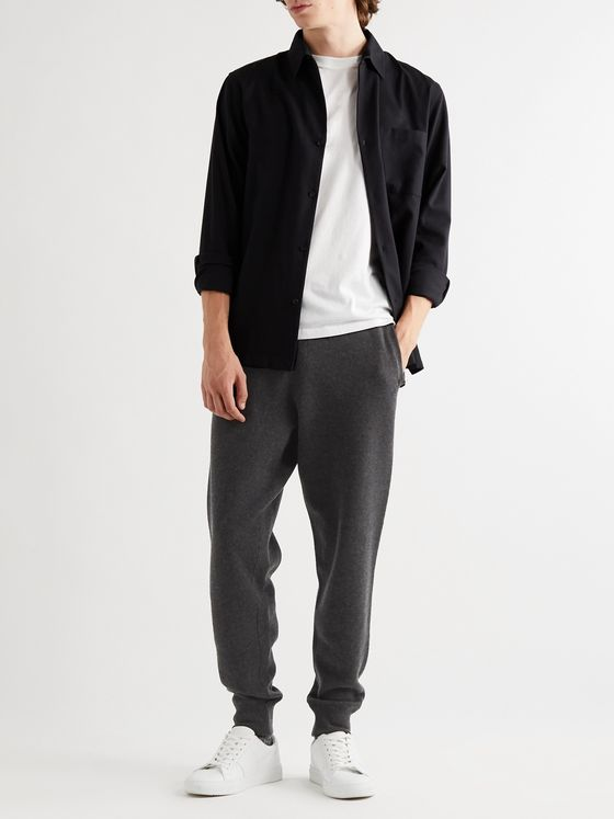 MR P. Tapered Double-Faced Cashmere Sweatpants