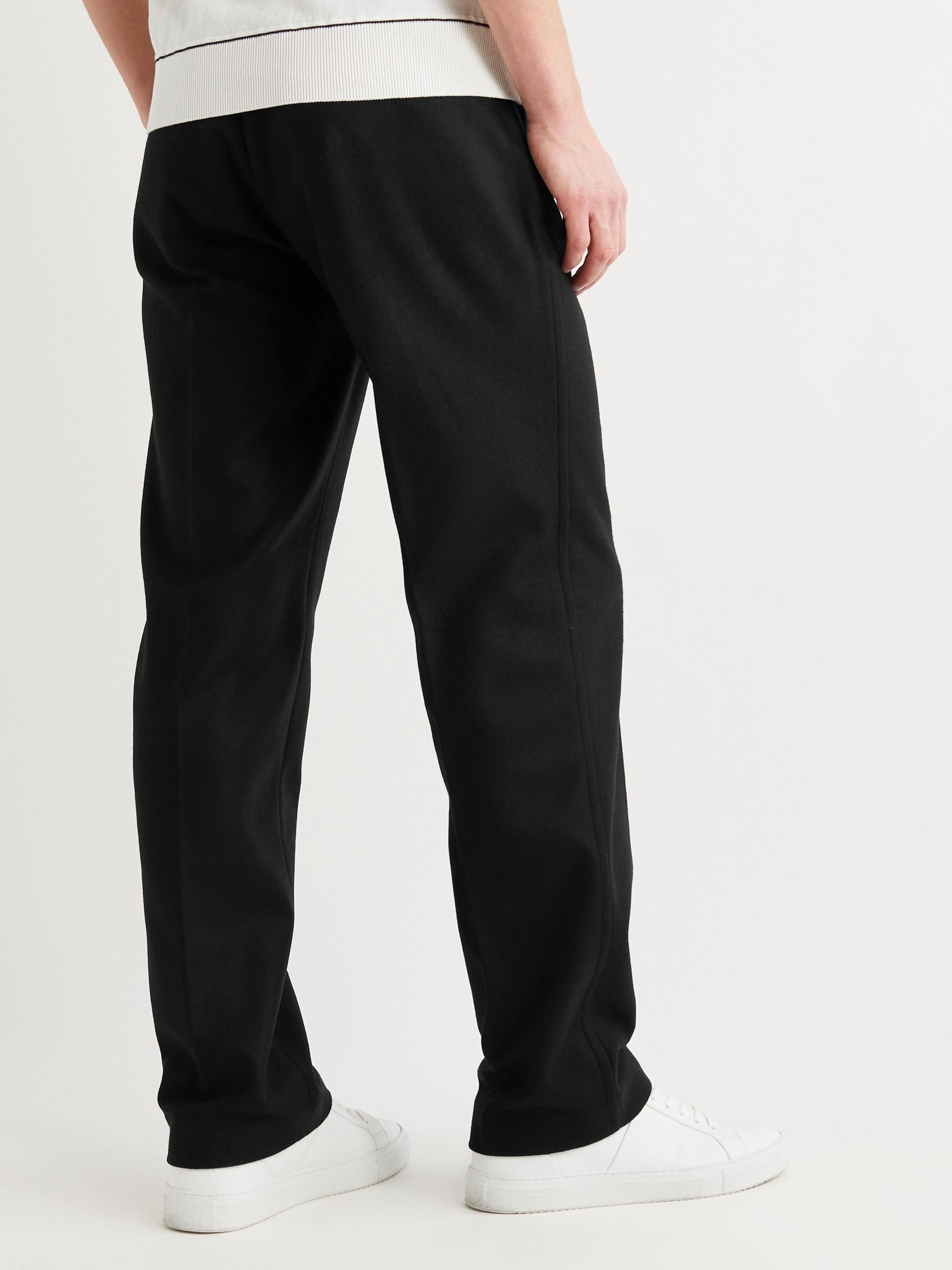 Mr P. Wide-Leg Virgin Wool and Cashmere-Blend Trousers