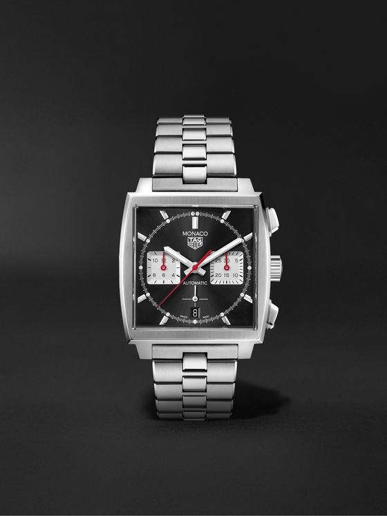 TAG Heuer Monaco Automatic Chronograph 39mm Stainless Steel Watch, Ref. No. CBL2113.BA0644