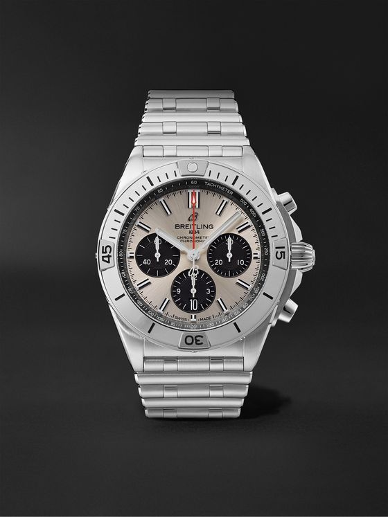 Breitling Chronomat B01 Automatic Chronograph 42mm Stainless Steel Watch, Ref. No. AB0134101G1A1