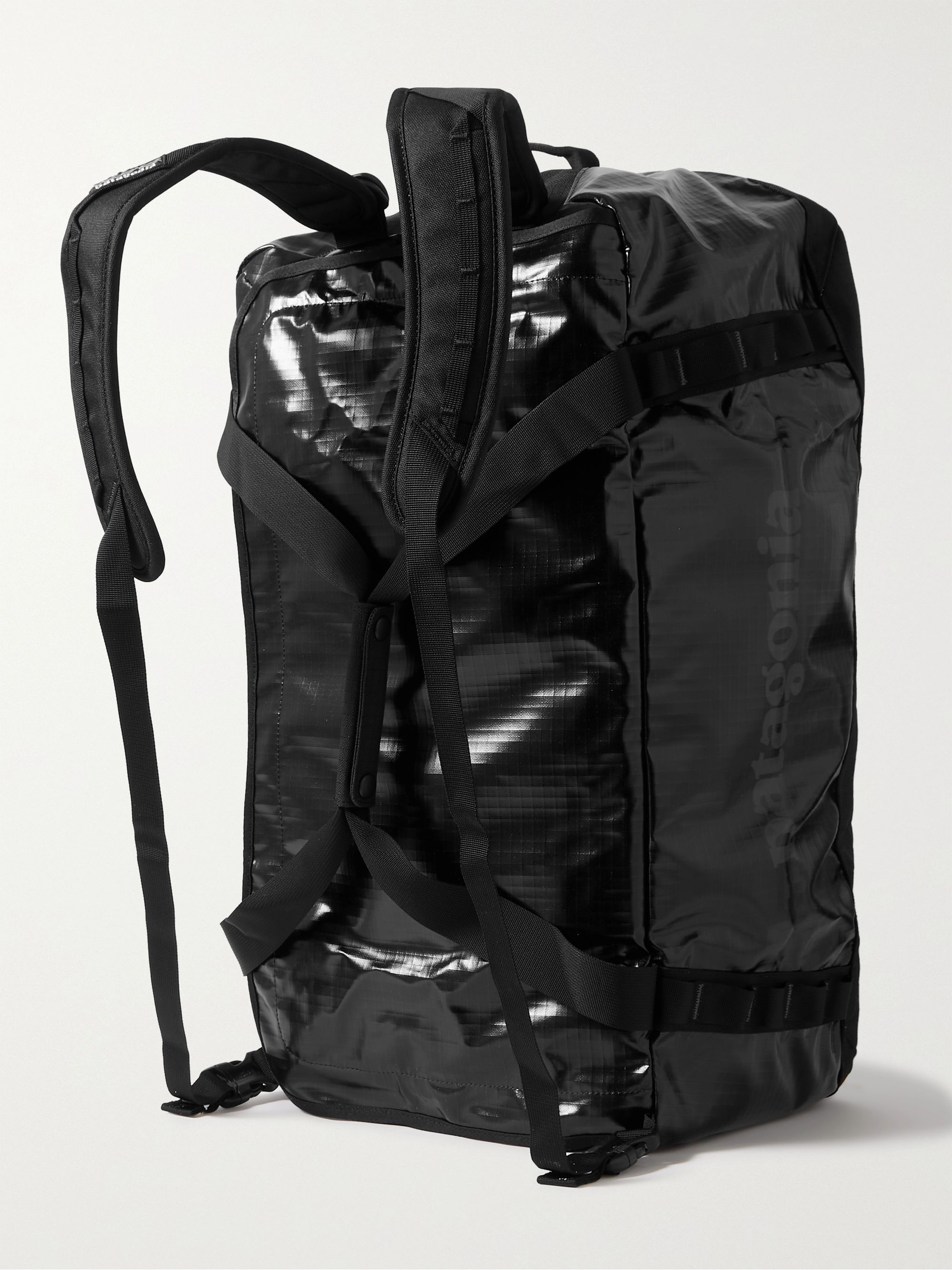 PATAGONIA Black Hole Packable Logo-Print Coated-Ripstop Holdall