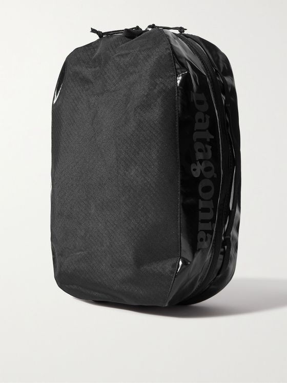 PATAGONIA Black Hole 10L Logo-Print Recycled Coated-Ripstop Packing Cube