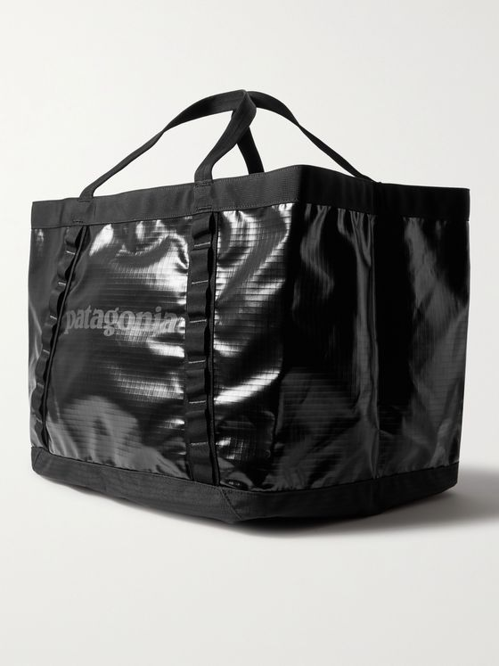 PATAGONIA Black Hole Gear Recycled Coated-Ripstop Tote Bag
