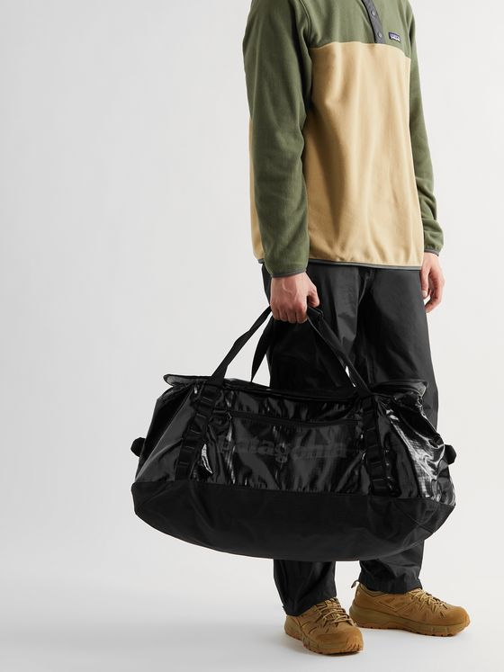 PATAGONIA Black Hole Convertible Logo-Print Recycled Ripstop Holdall