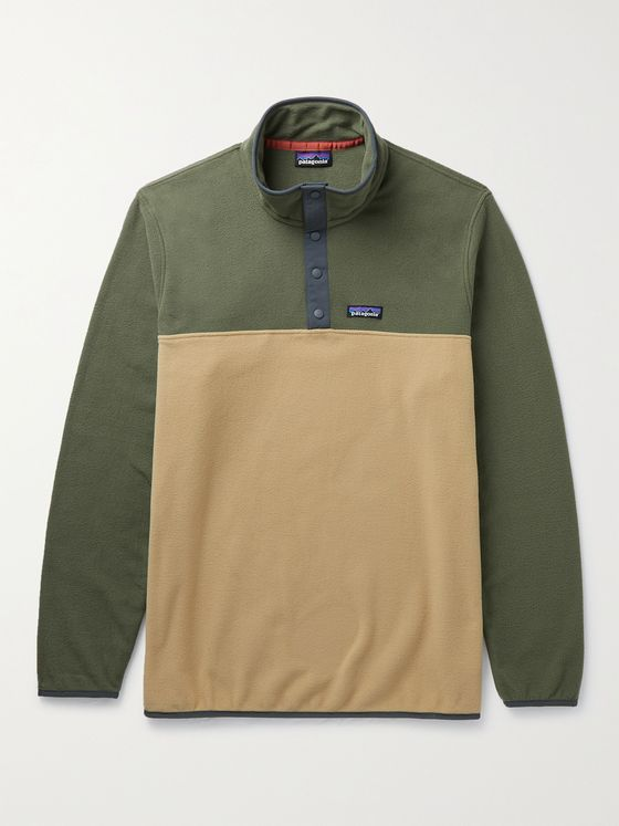 PATAGONIA Micro D Snap-T Recycled Fleece Sweatshirt