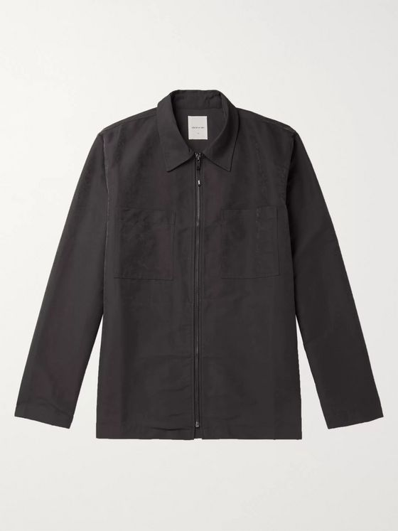 Wood Wood Shell Zip-Up Overshirt
