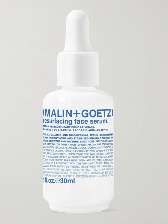 Malin + Goetz Resurfacing Face Serum, 30ml