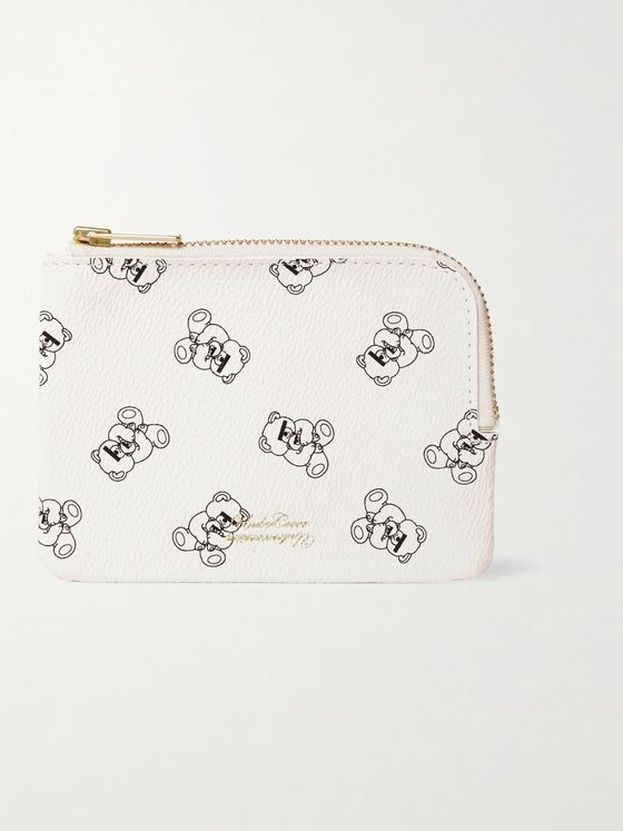 Undercover UBEAR Printed Faux Leather Wallet