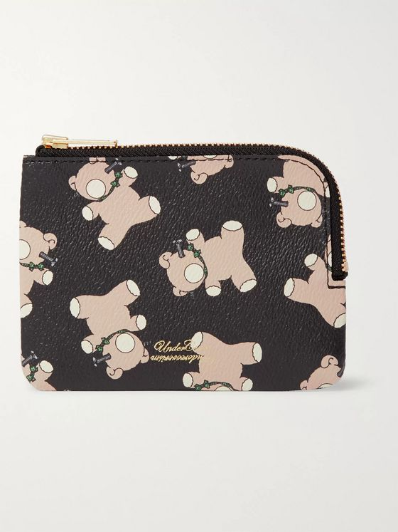 UNDERCOVER Printed Faux Leather Wallet