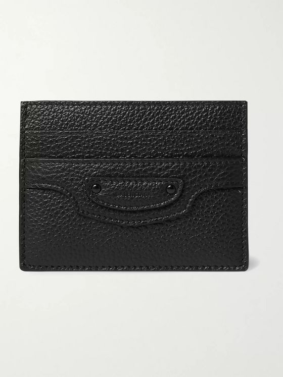 BALENCIAGA Full-Grain Leather Cardholder