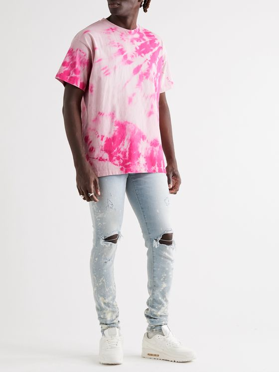 John Elliott University Tie-Dyed Cotton-Jersey T-Shirt