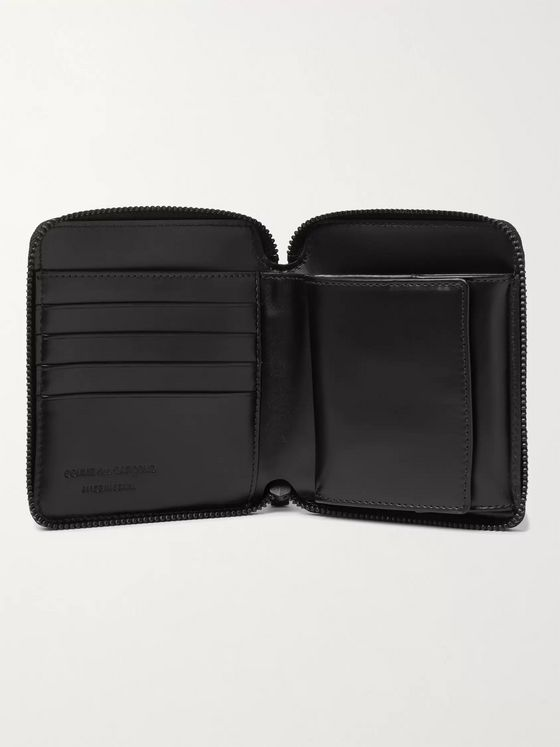 COMME DES GARÇONS Leather Zip-Around Wallet