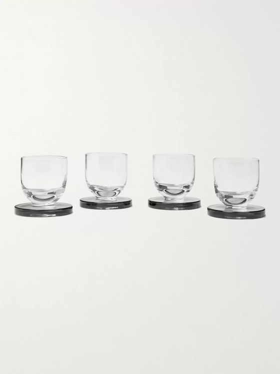 Tom Dixon Puck Set of Four Shot Glasses