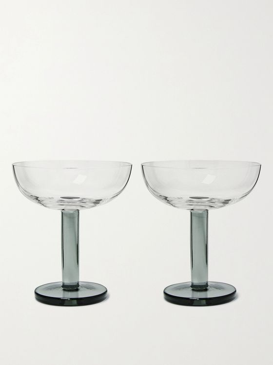 Tom Dixon Puck Set of Two Coupe Glasses