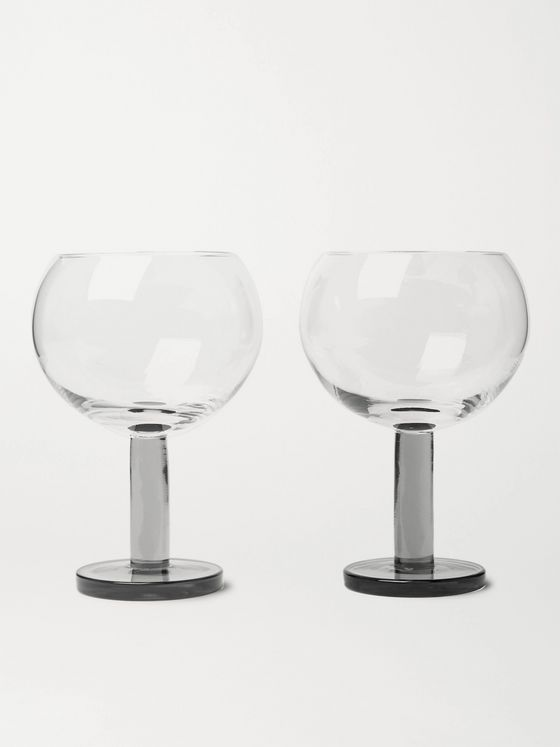 TOM DIXON Puck Set of Two Balloon Glasses