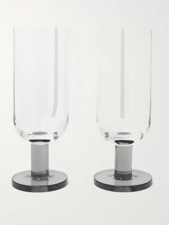 Tom Dixon Puck Set of Two Highball Glasses