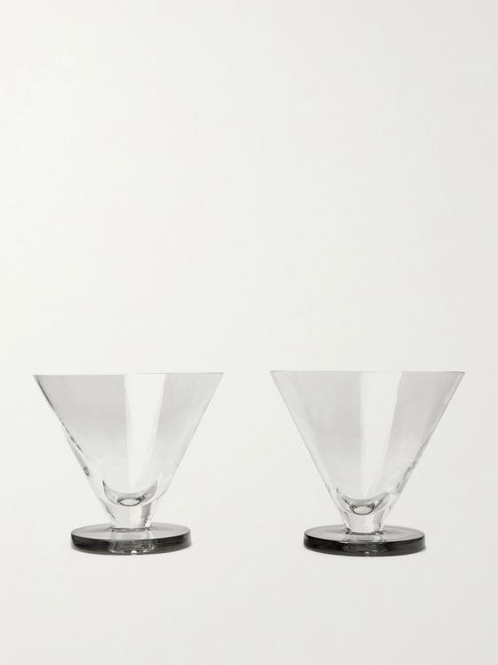 Tom Dixon Puck Set of Two Cocktail Glasses