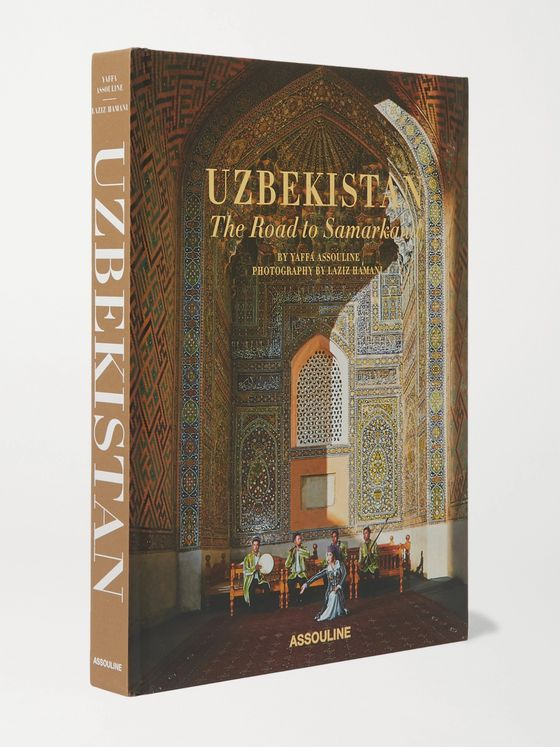 ASSOULINE Uzbekistan: The Road to Samarkand Hardcover Book