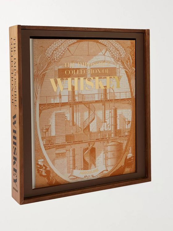 ASSOULINE The Impossible Collection of Whiskey Hardcover Book