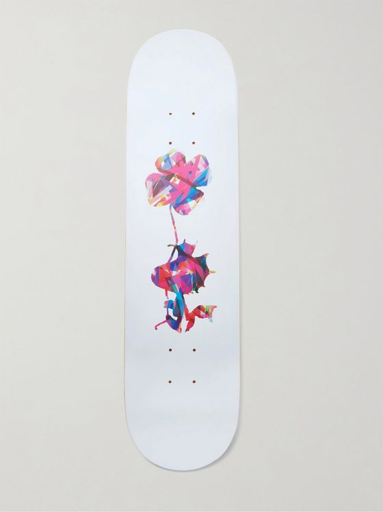 THE SKATEROOM + Peanuts by AVAF Printed Wooden Skateboard