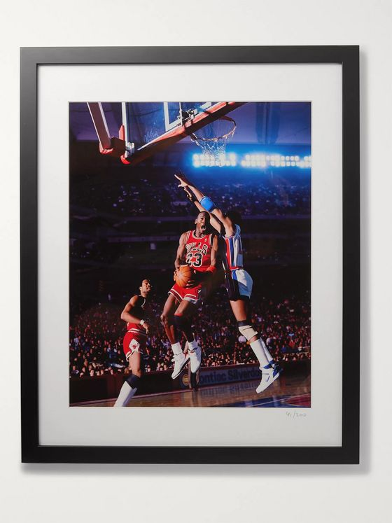 "Sonic Editions Framed 1987 Air Jordan II Print, 16"" x 20"""