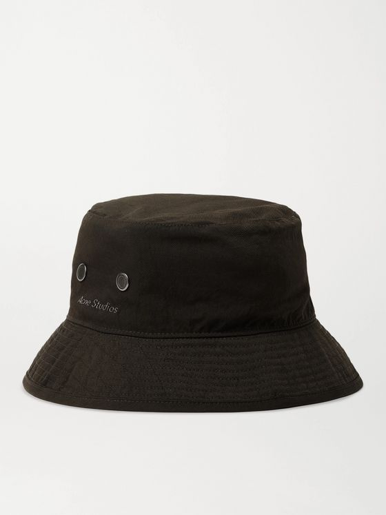 ACNE STUDIOS Logo-Appliquéd Nylon Bucket Hat