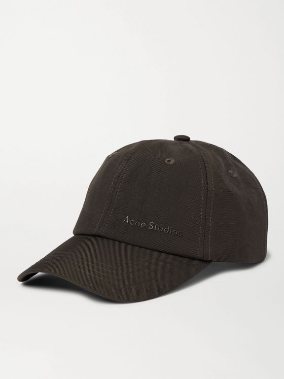 ACNE STUDIOS Logo-Embroidered Nylon Baseball Cap