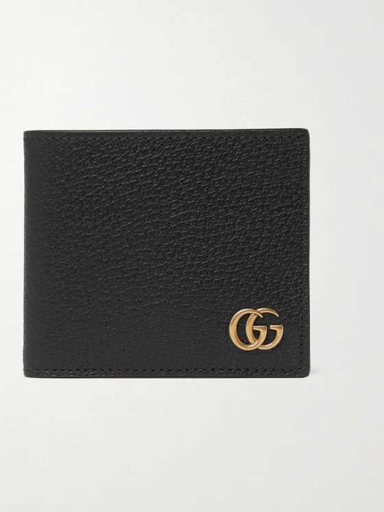 GUCCI GG Marmont Full-Grain Leather Billfold Wallet