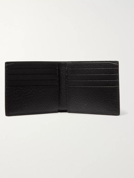 Gucci Off the Grid Leather-Trimmed Monogrammed ECONYL Canvas Billfold Wallet