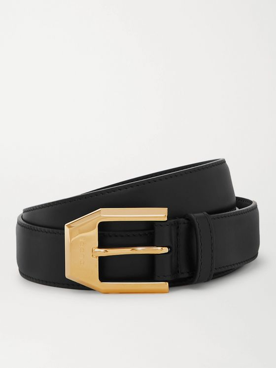 Gucci 3cm Leather Belt