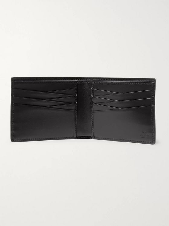 GUCCI GG Tennis Monogrammed-Leather Billfold Wallet