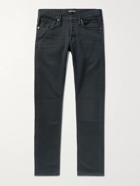 TOM FORD Slim-Fit Stretch-Denim Jeans