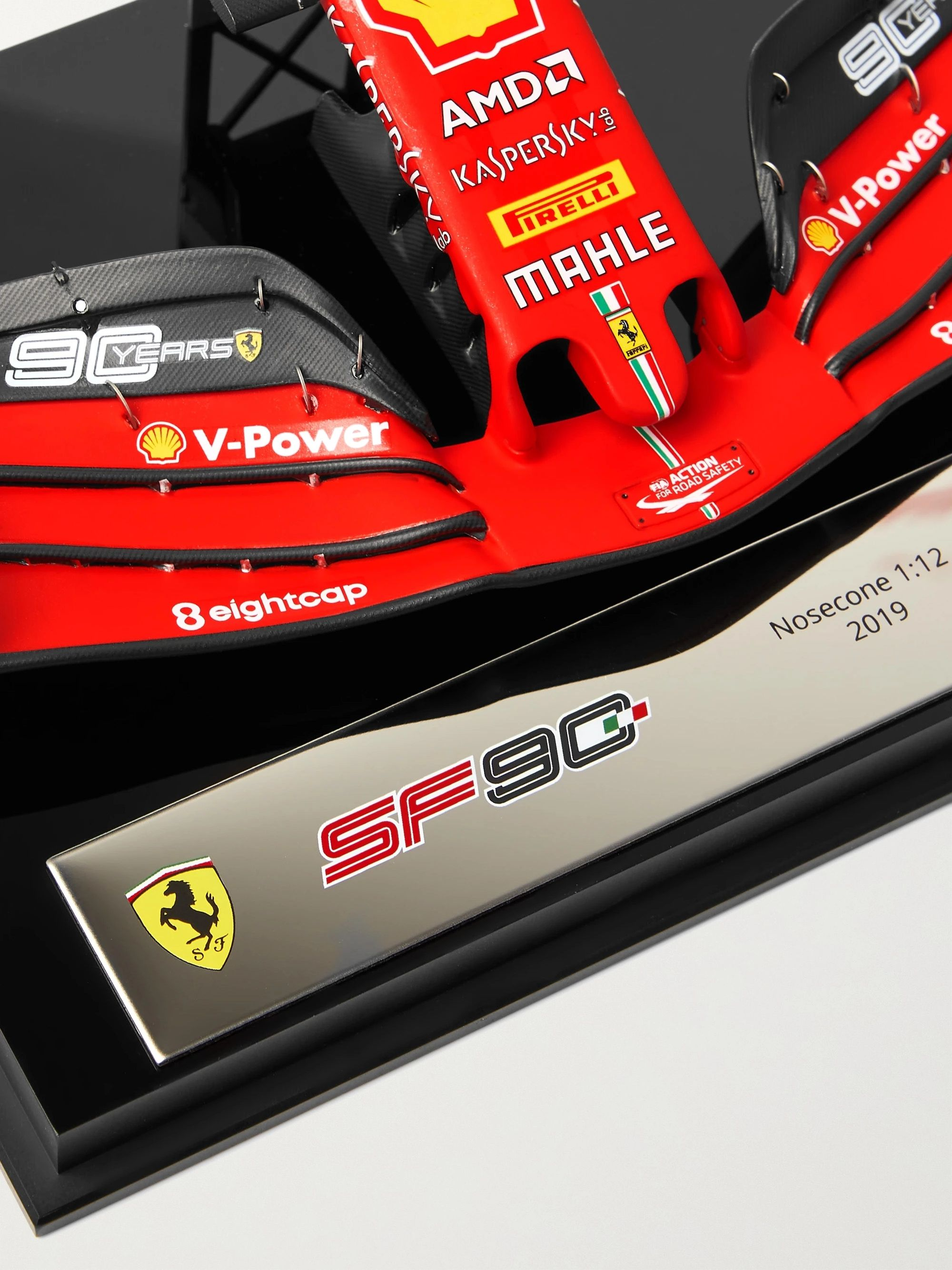 Amalgam Collection Ferrari SF90 1:12 Model Nosecone and Front Wing