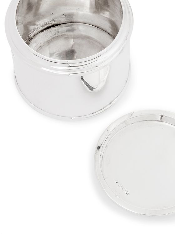 FOUNDWELL Sterling Silver Tea Caddy