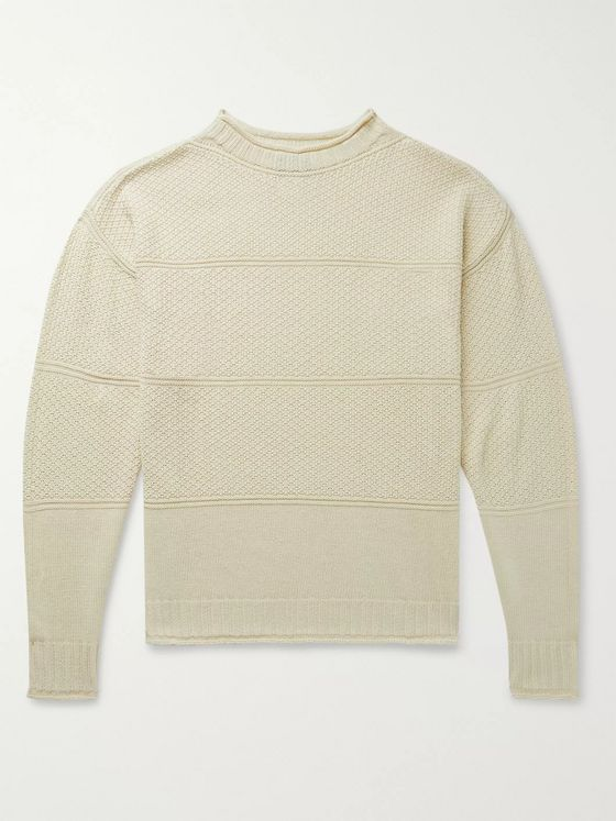 Drake's Linen and Merino Wool-Blend Sweater