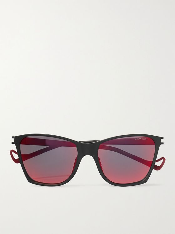 DISTRICT VISION Keiichi Polycarbonate and Titanium Polarised Sunglasses