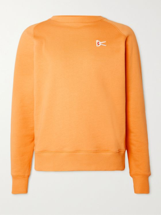 DISTRICT VISION Sati Loopback Cotton-Jersey Sweatshirt