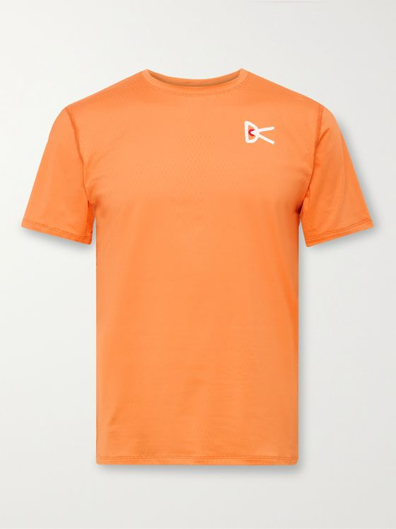 DISTRICT VISION Slim-Fit Air-Wear Stretch-Mesh T-Shirt